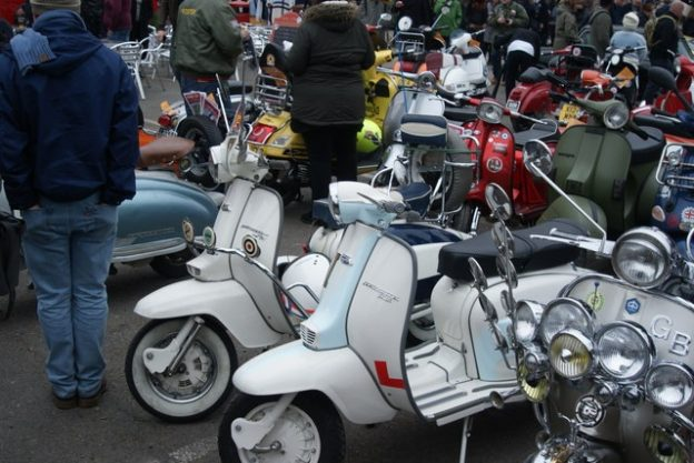 Lambretta JT125 and TV230